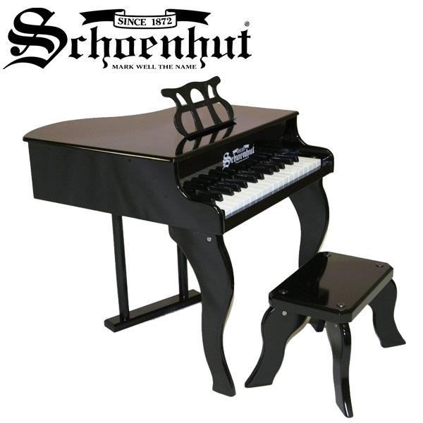 Schoenhut(シェーンハット) / Fancy Baby Grand (Black) ベンチ付き 30鍵盤 トイピアノ