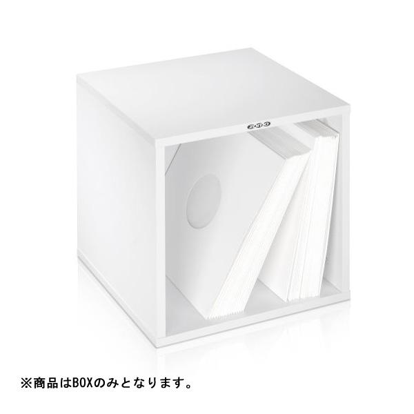 【ポイント10倍】Zomo(ゾモ) / VS-Box 100 White (組立式) - 12インチレコード収納BOX - 【約100枚収納可能】