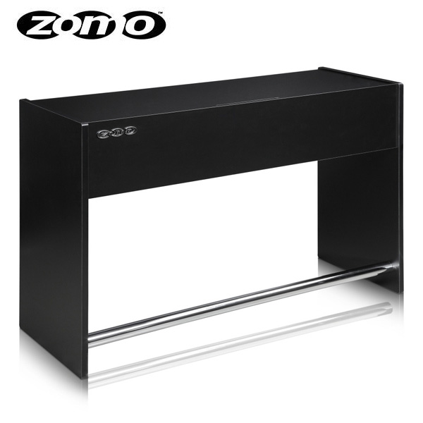 【ポイント10倍】Zomo(ゾモ) / Deck Stand Ibiza 150 (Black) - DJテーブル - 《組立式》