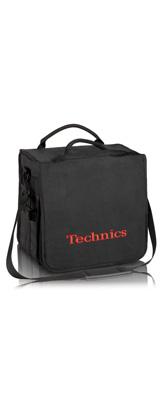Technics(テクニクス) / BackBag (Black/Red) 【レコード約60枚収納可】 レコードバッグ