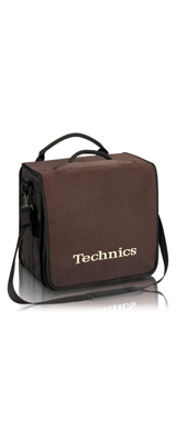 Technics(テクニクス) / BackBag (Brown/Beige) 【レコード約60枚収納可】 - レコードバッグ -