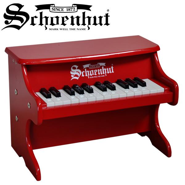 Schoenhut(シェーンハット) / My First Piano II (RED) 25鍵盤 トイピアノ