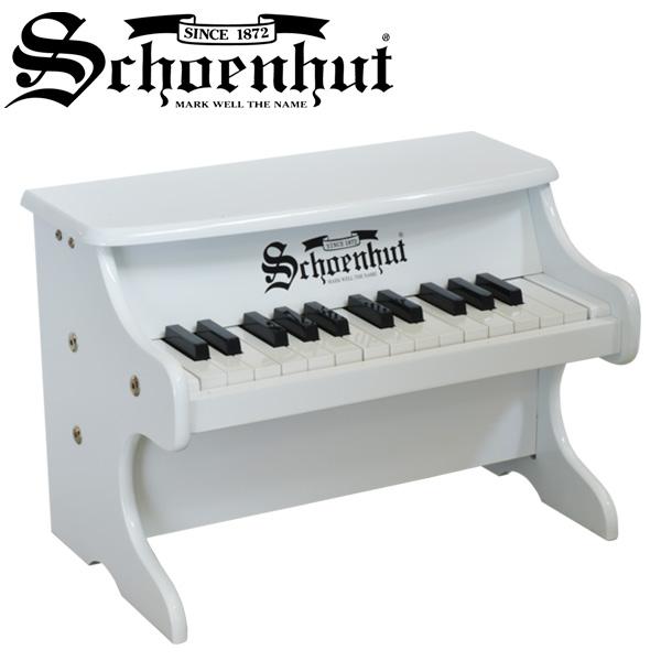 Schoenhut(シェーンハット) / My First Piano II (WHITE) 25鍵盤 トイピアノ