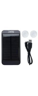 XTG Technology / XTGソーラー充電器 1500mAh / USBポート1基 (iPhone Samsung Galaxy の充電用に。 【LEDライト・取り付け用吸盤付き】