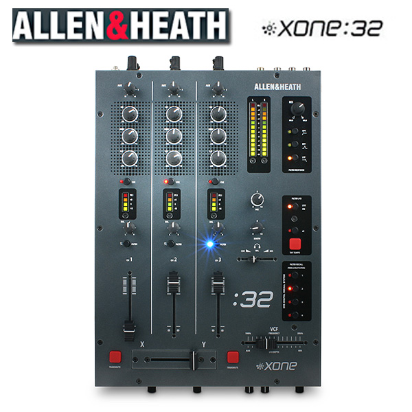 Allen&Heath(アレンアンドヒース) / XONE:32 高音質DJミキサー