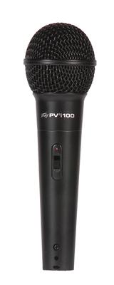 """PEAVEY(ピーヴィー) / PVi100 1/4"""" ダイナミックマイクロフォン 【6mマイクケーブル、ナイロンポーチ、マイクホルダー付属】"""
