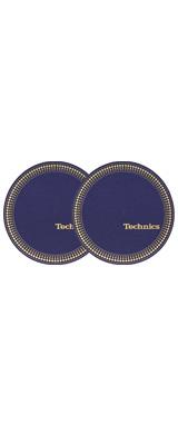 Technics(テクニクス) / Slipmats (Strobo blue-golden) スリップマット (2枚/1ペア)