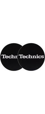 Technics(テクニクス) / Slipmats (Logo Silver) - スリップマット (2枚/1ペア) -
