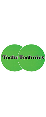 Technics(テクニクス) / Slipmats (Green) - スリップマット (2枚/1ペア) -