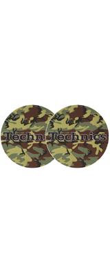 Technics(テクニクス) / Slipmats (Camouflage / Army) スリップマット (2枚/1ペア)