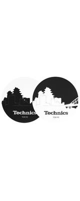Technics(テクニクス) / Slipmats (Skyline Tokyo) スリップマット (2枚/1ペア)
