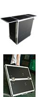 DJテーブル / 耐荷重アップ Euro Style(ユーロスタイル) / DJ TABLE (2nd Edition) - 折りたたみ式DJテーブル -  【CDJセット、ターンテーブルセット、PCDJ、シンセサイザー、キーボード等多彩に対応!!】
