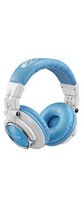 【ポイント10倍】Zomo(ゾモ) / HD-1200 (White/Blue) - 密閉型 DJヘッドホン - 1大特典セット
