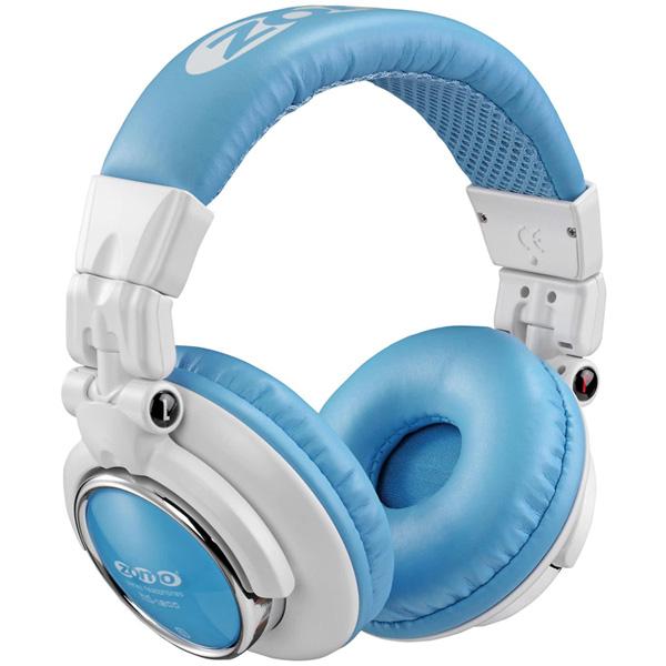 ■ご予約受付■ 【ポイント10倍】Zomo(ゾモ) / HD-1200 (White/Blue) - 密閉型 DJヘッドホン - 1大特典セット