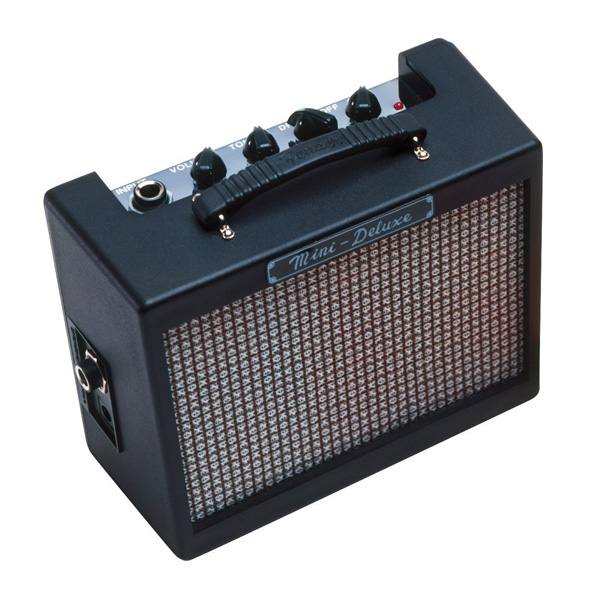 Fender USA(フェンダー USA) / Mini Deluxe Amp - 電池駆動 ミニアンプ ギターアンプ -