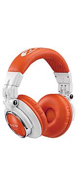 【ポイント10倍】Zomo(ゾモ) / HD-1200 (White/Orange) - 密閉型 DJヘッドホン - 1大特典セット