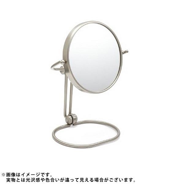 Jerdon(ジェルドン) / MC449N (ニッケル) 《折りたたみ式拡大鏡》 [鏡面 直径14cm] 【10倍率/等倍率】 -卓上型コンパクトミラー-