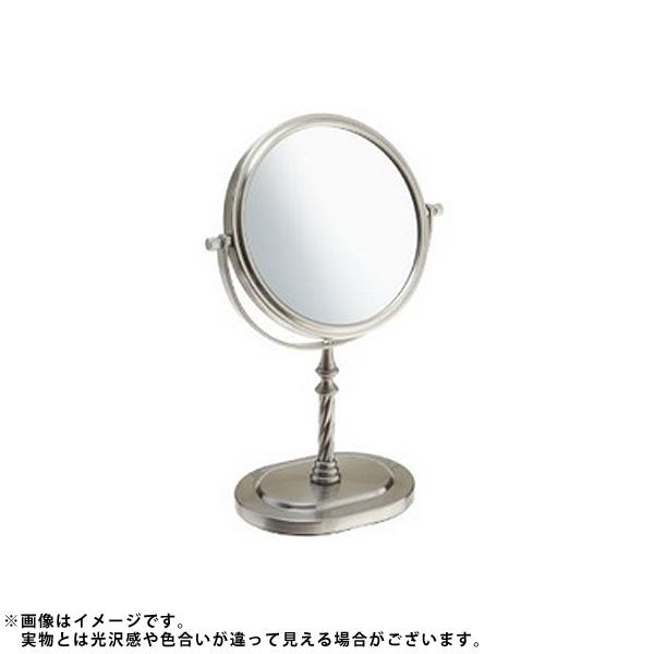 Jerdon(ジェルドン) / JP526N (ニッケル) 《拡大鏡》 [鏡面 直径15cm] 【5倍率/等倍率】 卓上型テーブルミラー