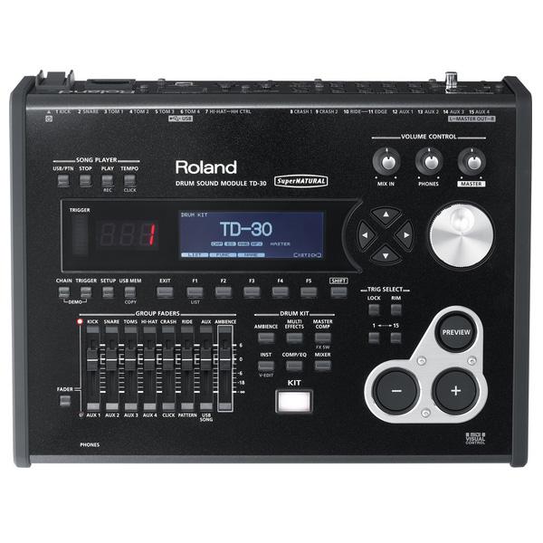 【限定1台処分特価ポイント10倍】Roland(ローランド) / TD-30  - Vドラム音源モジュール - 『セール』『ドラム』