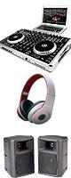 Numark(ヌマーク) N4 【Virtual DJ LE】 スターターBセット ■限定セット内容■→ 【・教則DVD ・セッティングマニュアル ・金メッキ高級接続ケーブル 3M 1ペア ・OAタップ ・ミックスCD作成KIT ・30Wモニター・スピーカー ・ネタCD2枚組 ・OV-X8 】