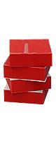 ソルボセイン製 インシュレーター Red (3cm×3cm 4枚1セット)【最先端ハイテク衝撃吸収素材】