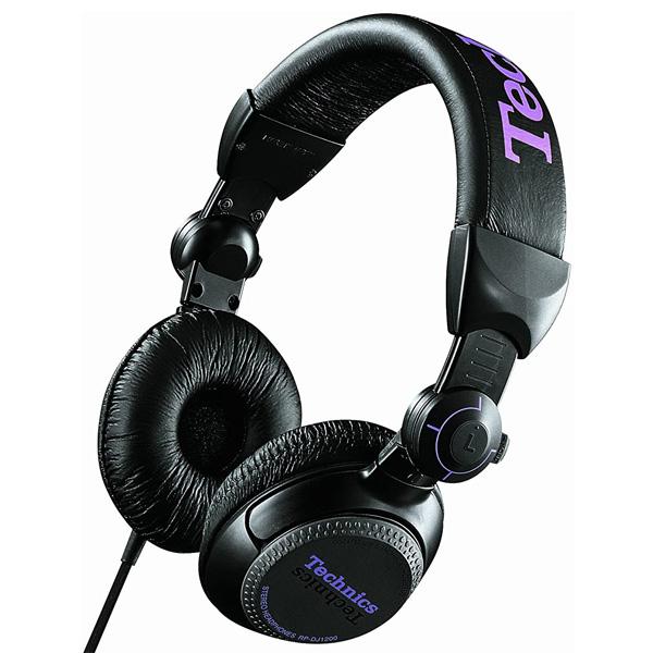Technics(テクニクス) / RP-DJ1200-K (ブラック) 密閉型 DJヘッドホン 1大特典セット