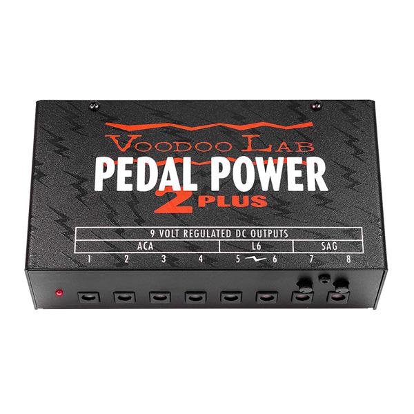VOODOO LAB(ブードゥーラボ) / PEDAL POWER 2 PLUS - ギターエフェクター用パワーサプライ - 1大特典セット