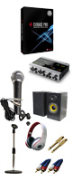【DTM初心者レコーディングセットA】Cubase Pro 9 (アカデミック版)  /KOMPLETE AUDIO 6 / PGM-58 セット 5大特典セット