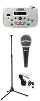 Boss(ボス) / Vocal Performer VE-5-WH 【ボーカル向けエフェクター】【マイク(PGM-58s) & スタンド(ESM-3605) セット】 1大特典セット
