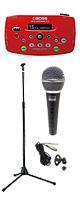 Boss(ボス) / Vocal Performer VE-5-RD 【ボーカル向けエフェクター】【マイク(PGM-58s) & スタンド(ESM-3605) セット】 1大特典セット