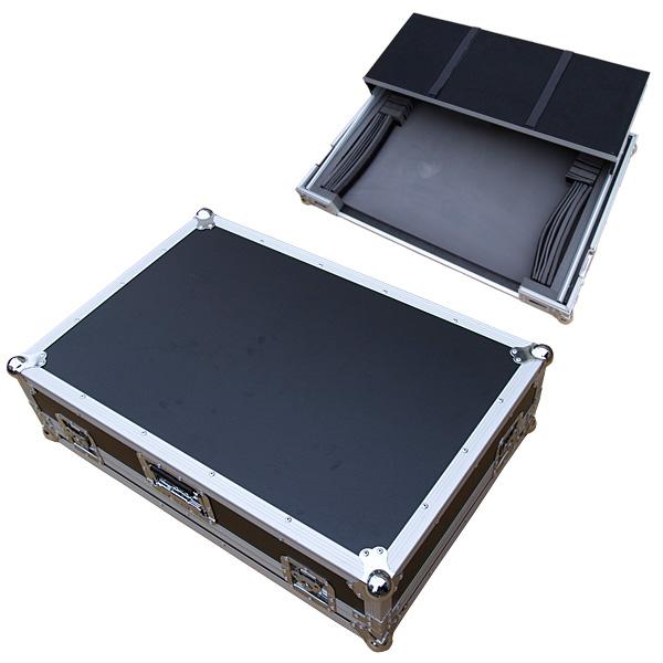 Euro Style(ユーロスタイル) / DJ CONTROLLER CASE (LARGE) BLACK (ブラック) 【対応機種 Pioneer DDJ-SX2,DDJ-SX3,DDJ-RX,XDJ-RR / Denon MC7000 / Native Instruments TRAKTOR KONTROL S8 / Roland / DJ-505 /Reloop / TOUCH.MIXON4】 - DJコントローラーケース -