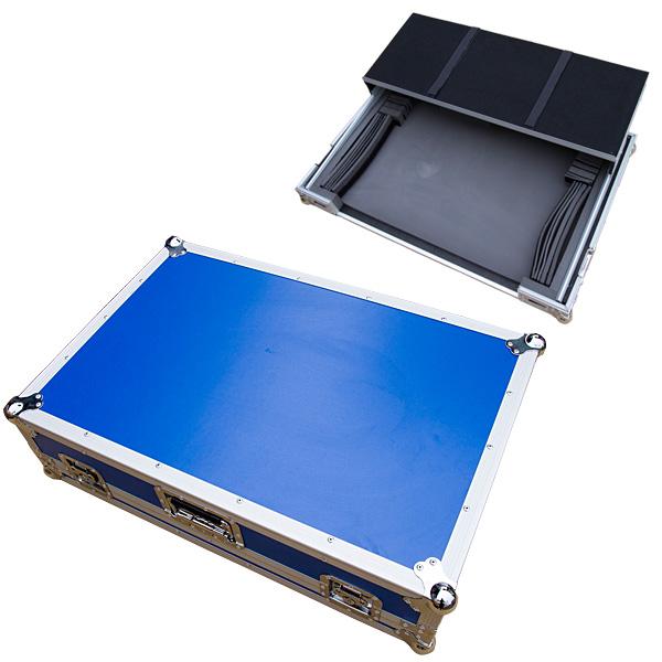 【タイムセール限定1台】Euro Style(ユーロスタイル) / DJ CONTROLLER CASE (LARGE) BLUE (ブルー) 【対応機種 Pioneer DDJ-SX2, DDJ-RX / Denon MC7000 / Native Instruments TRAKTOR KONTROL S8】 - DJコントローラーケース -の商品レビュー評価はこちら