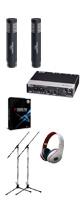 【楽器レコーディングDTMセット】Cubase Pro 9 (アカデミック版) /UR242 / PRO63 x 2本 2大特典セット
