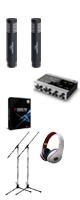 【楽器レコーディングDTMセット】Cubase Pro 9 (アカデミック版) /KOMPLETE AUDIO 6 / PRO63 x 2本 2大特典セット
