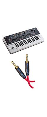 【フォンケーブルセット】 Roland(ローランド) /  Synthesizer GAIA SH-01 - シンセサイザー -
