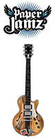Paper Jamz(ペーパージャムズ) / Guitar Series 2 - Style 1 (LesPaul) - トイギター -
