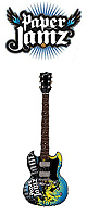 Paper Jamz(ペーパージャムズ) / Guitar Series 2 - Style 6 (SG) - トイギター -