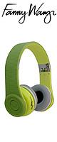 Fanny Wang(ファニーウォン) / 1000 Series On Ear Wangs (Green) - ラグジュアリー・ヘッドホン - ■限定セット内容■→ 【・最上級エージング・ツール 】