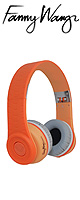 Fanny Wang(ファニーウォン) / 1000 Series On Ear Wangs (Orange) - ラグジュアリー・ヘッドホン - ■限定セット内容■→ 【・最上級エージング・ツール 】