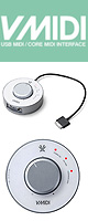 Vestax(ベスタックス) / V-MIDI CoreMIDI対応インターフェイス 【iPad 、 iPhone とUSB MIDI機器接続可能】