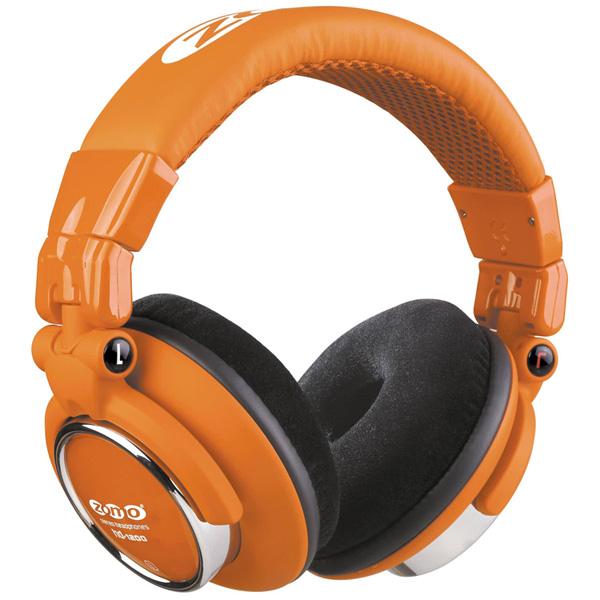 Zomo(ゾモ) / HD-1200 (Toxic Orange) - 密閉型 DJヘッドホン - 1大特典セット