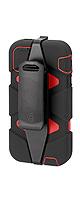 Griffin(グリフィン) / Survivor Case (Black/Red) - iPhone 5 ケース  - 【軍隊認証強度】