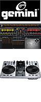 Gemini(ジェミナイ) / FirstMix Pro - 【MIXVIBES Cross LE 付属】DJコントローラー - ■限定セット内容■→ 【・教則DVD ・金メッキ高級接続ケーブル 3M 1ペア 】