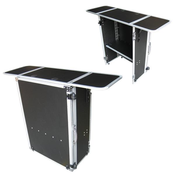 Euro Style(ユーロスタイル) / DJ TABLE (Light Edition) - 折りたたみ式DJテーブル - スモールサイズ 【CDJセット、PCDJ、シンセサイザー、キーボード等多彩に対応!!】