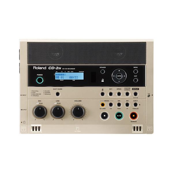 Roland(ローランド) / CD-2u 【SD・CDレコーダー】