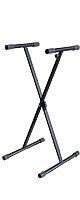 Euro Style(ユーロスタイル) / X型シングル キーボードスタンド 【ESK-321】 高さ7段階調整 ワンタッチロック調整