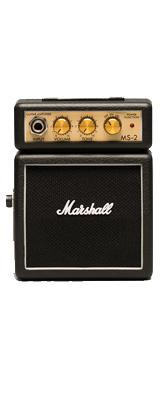 Marshall(マーシャル) / MS-2 (ブラック) - 電池駆動 ミ二アンプ ギターアンプ - 1大特典セット
