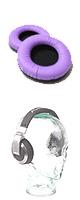 ★期間限定特別価格!★ Pro-group(プロ・グループ) / 交換用イヤーパッド フェイクレザー(Purple) 【Pioneer(パイオニア) / HDJ-1000・HDJ-1500・HDJ-2000・HDJ-2000MK2・HDJ-X5・HDJ-X7・HDJ-X10 対応】 1ペア(両耳)の販売