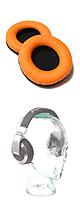 ★期間限定特別価格!★ Pro-group(プロ・グループ) / 交換用イヤーパッド フェイクレザー(Orange) 【Pioneer(パイオニア) / HDJ-1000・HDJ-1500・HDJ-2000・HDJ-2000MK2・HDJ-X5・HDJ-X7・HDJ-X10 対応】 1ペア(両耳)の販売
