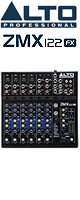 ALTO(アルト) / ZMX122FX - 8チャンネル、エフェクト内蔵コンパクト・ミキサ -